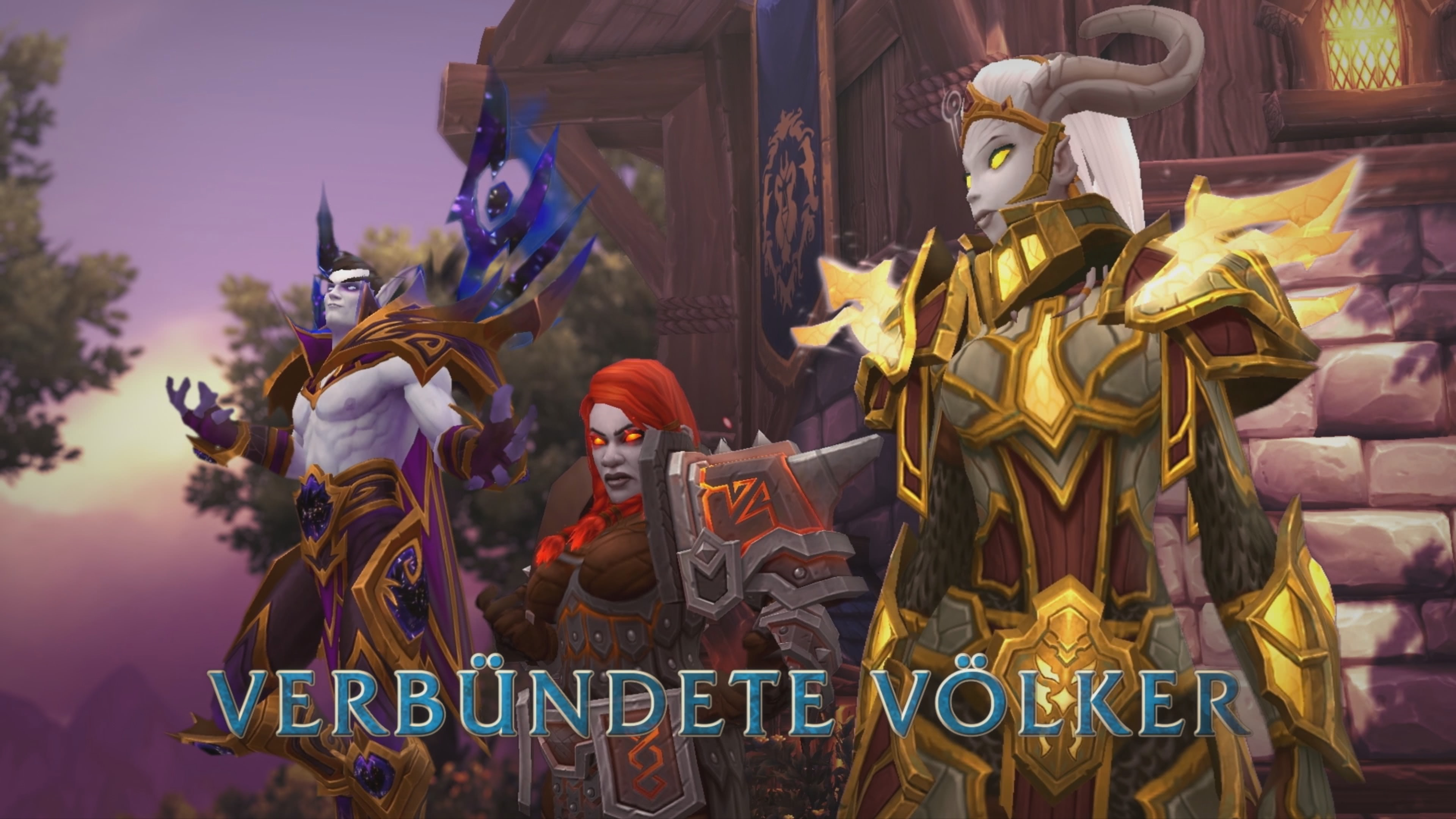 wow neue spielbare v lker in battle for azeroth. Black Bedroom Furniture Sets. Home Design Ideas