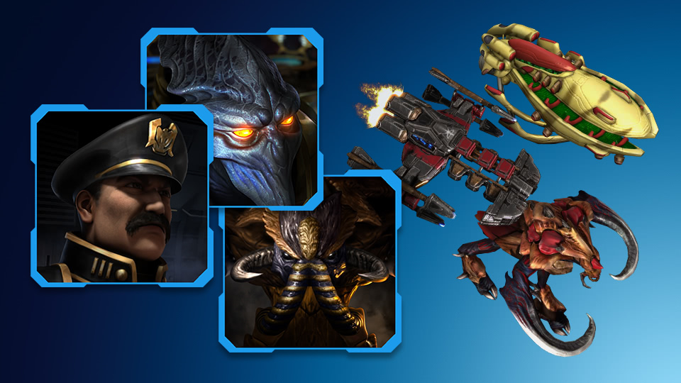 BlizzCon 2019 In-Game Goodies für Starcraft 2