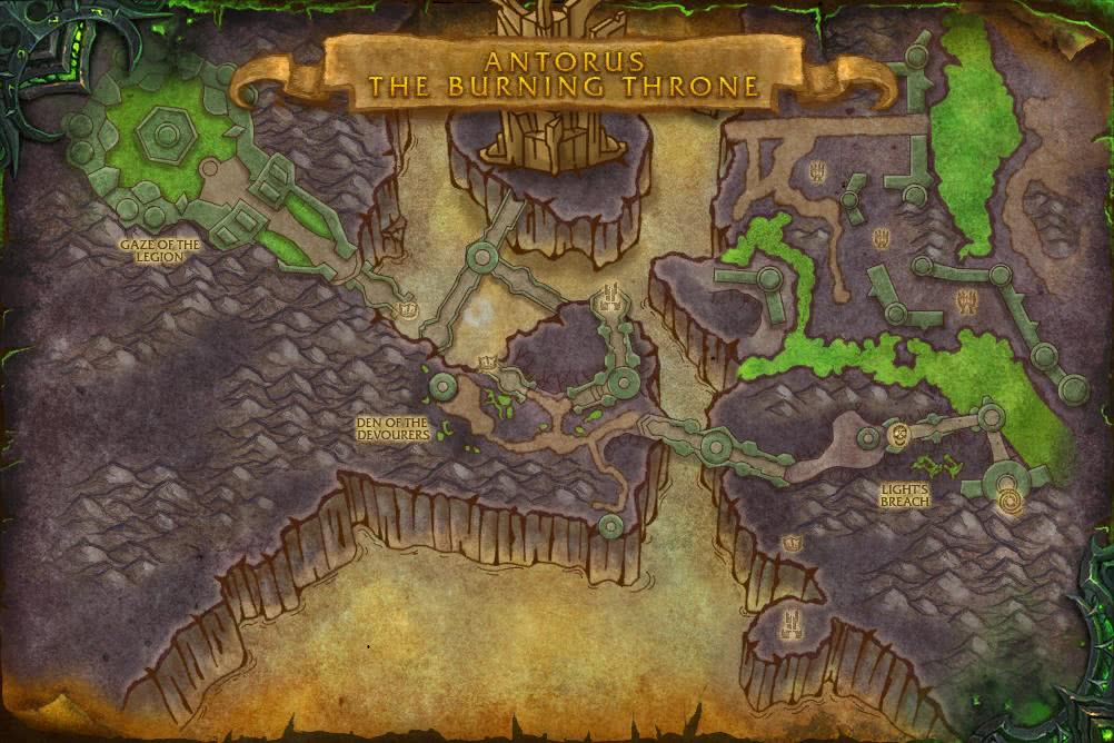 Wow Antorus Der Brennende Thron Guide