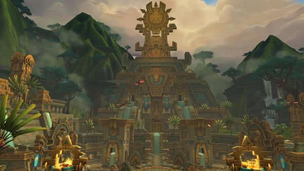 World of Warcraft - Atal'Dazar in 3,57 Minuten mit 5 Stufe-110-Twinks