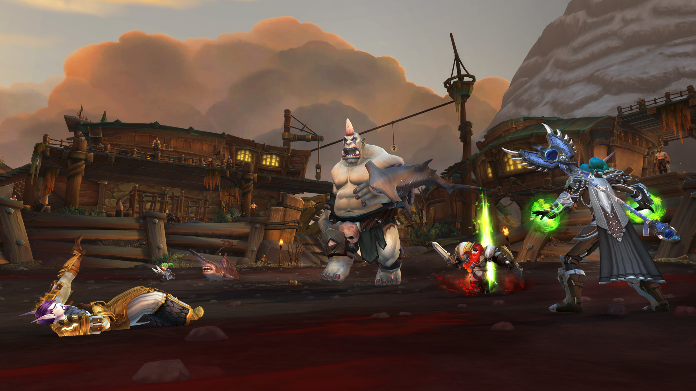 Battle for Azeroth Dungeons, Raids & Weltbosse