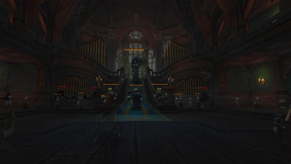 World of Warcraft - BfA Rätsel: Orgeln spielen Blizzardmelodien im Kronsteiganwesen