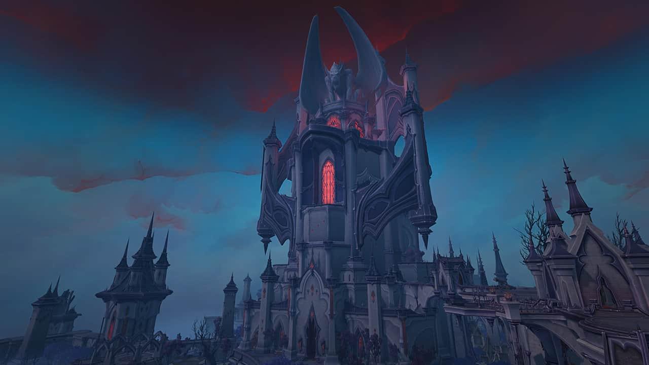 WoW Shadowlands: Raid-Tests für Bosse in Schloss Nathria