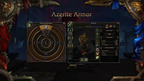 World of Warcraft - Tabellen für Azerit-Stufen, Azeritwissen und Azeritmacht