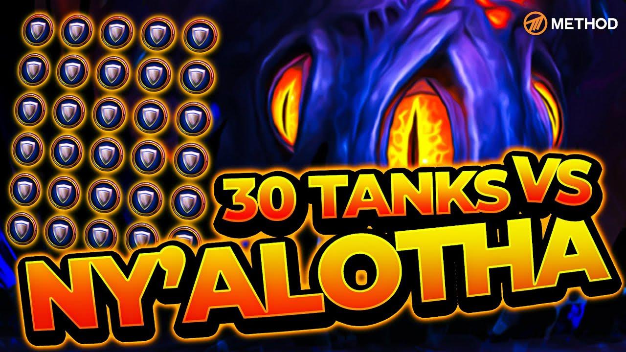 Alle heroischen Bosse in Ny'alotha von 30 Tank überrannt