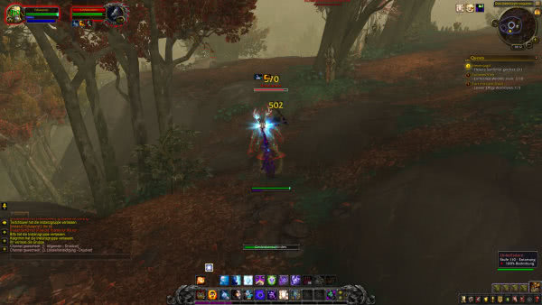 Interface in Battle for Azeroth