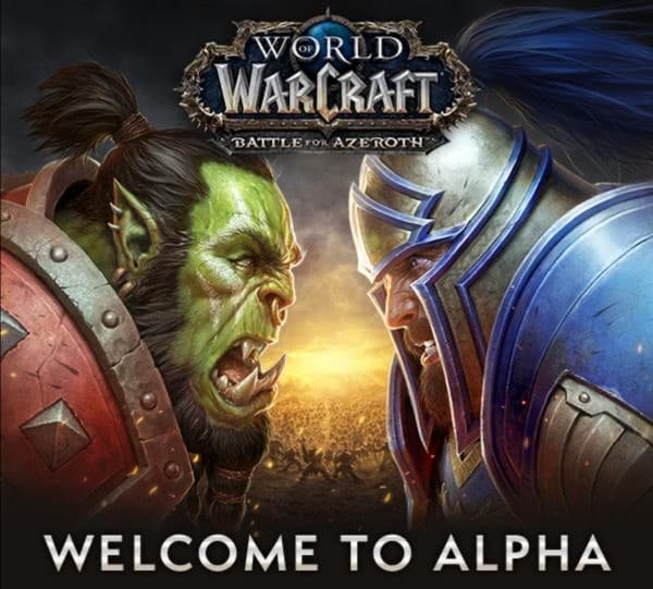 Battle for Azeroth Alpha Einladung
