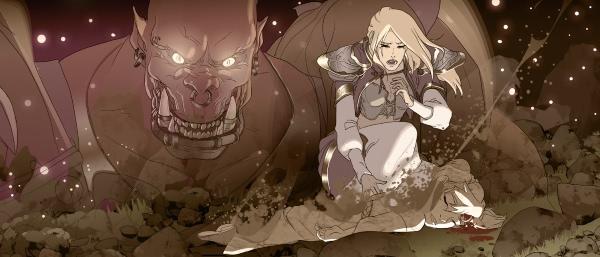 """World of Warcraft - Comic Battle for Azeroth #1 – Jaina: """"Heimkehr"""""""