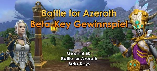 World of Warcraft - Battle for Azeroth Gewinnspiel - Gewinnt 60 Beta-Keys