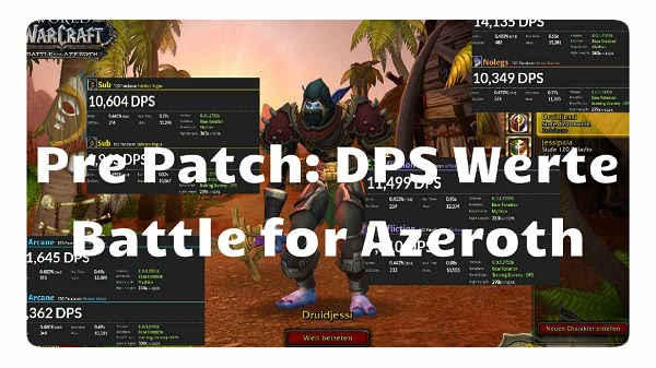 World of Warcraft - Battle for Azeroth: DPS Ranking der Klassen