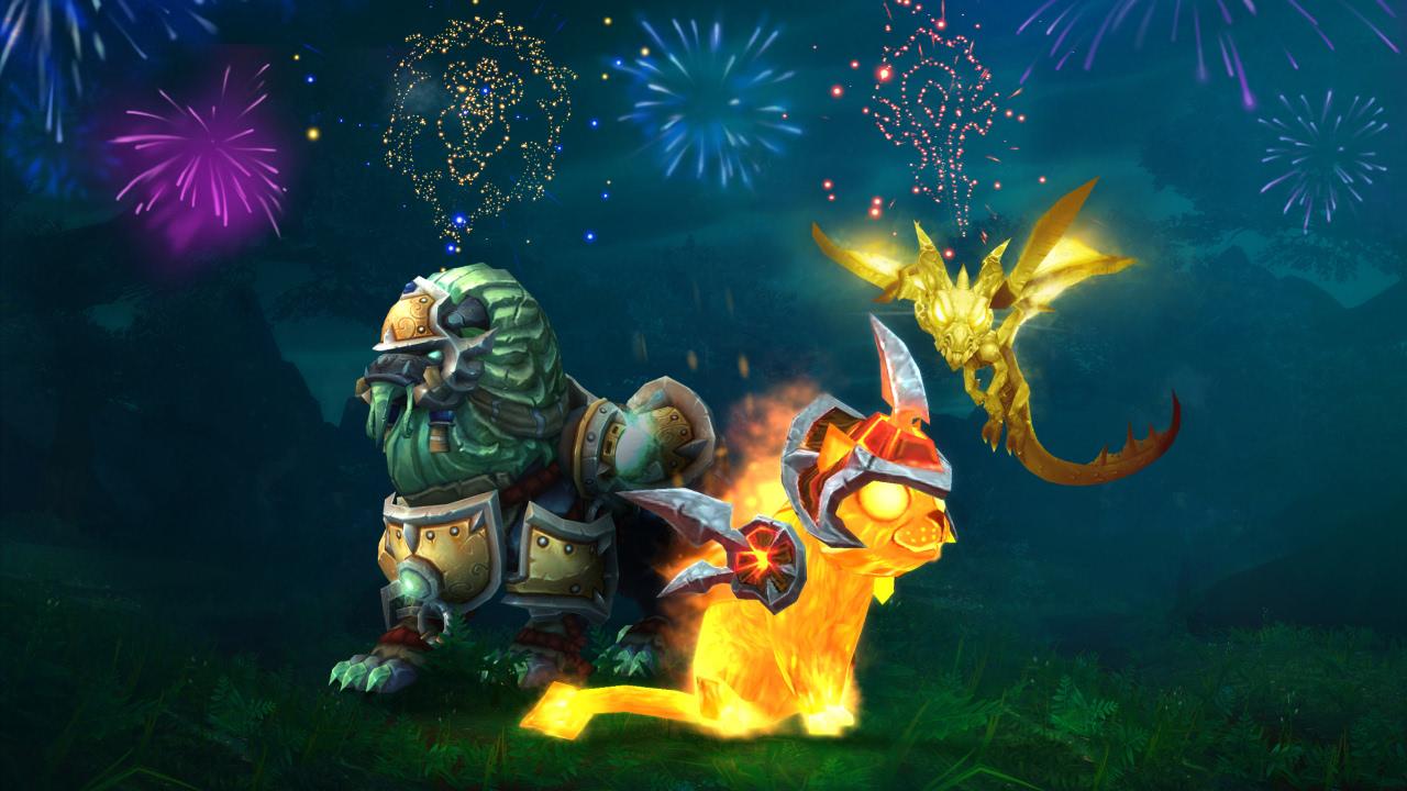 Sommerangebote für Haustiere, Reittiere und Spielzeuge aus World of Warcraft