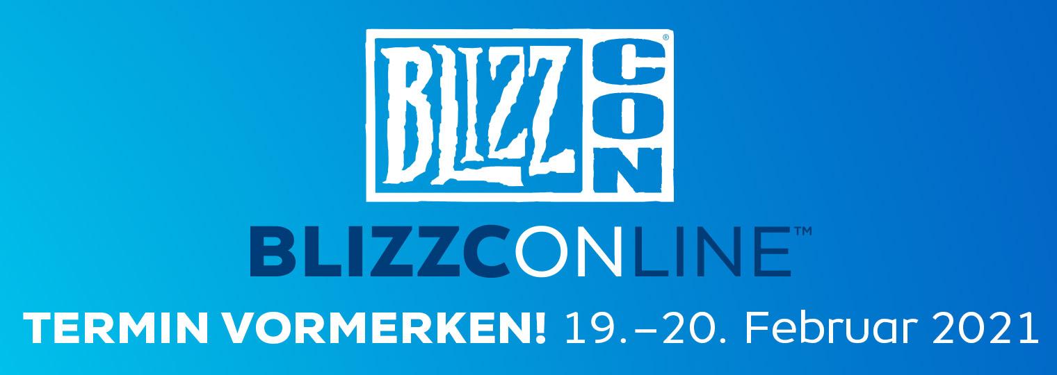 BlizzConline findet am 19.–20. Februar 2021 statt