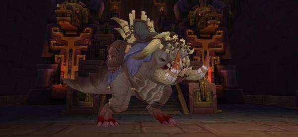 World of Warcraft - Bloodgorged Crawg für Erfolg Ruhm des Schlachtzüglers in Uldir