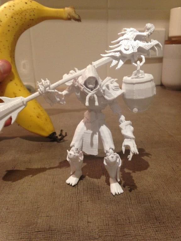Braumeister-Mönch aus dem 3D-Drucker