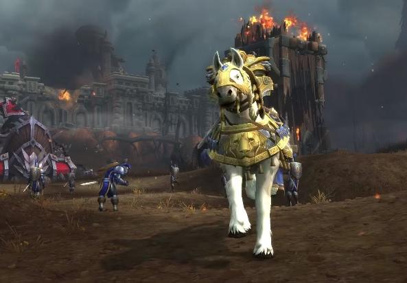 World of Warcraft - Ingame Zwischensequenzen aus dem Kampf um Lordaeron