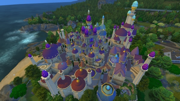 Dalaran in The Sims 4 nachgebaut