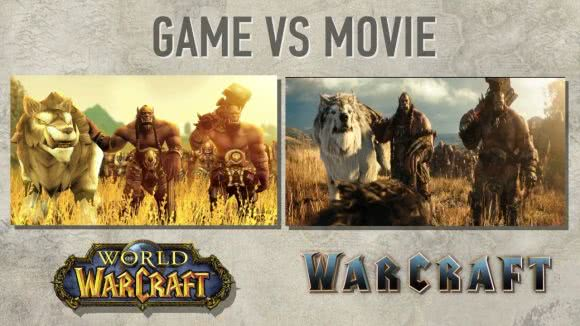 Warcraft Film vs. World of Warcraft