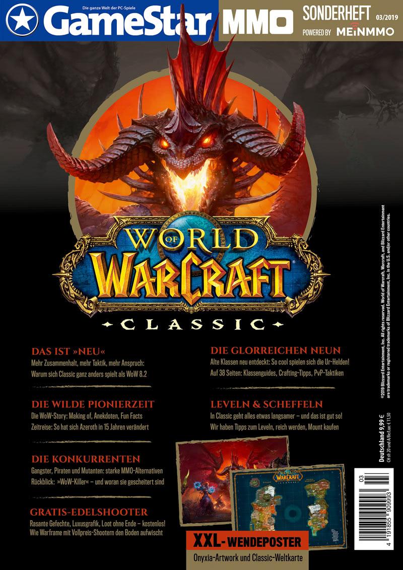 Gamestar Sonderheft zu World of Warcraft Classic