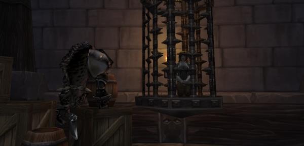 World of Warcraft - Battle for Azeroth: Tribut für Hogger-Cosplayerin