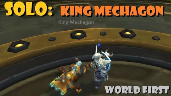 Rextroy bezwingt König Mechagon im Alleingang