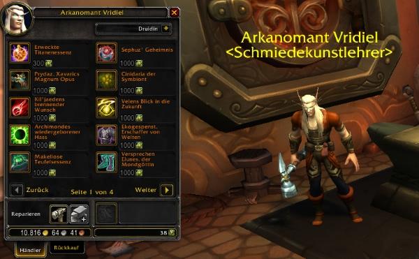 World of Warcraft - Ab Pre-Patch 8.0 könnt ihr spezifische Legendaries kaufen