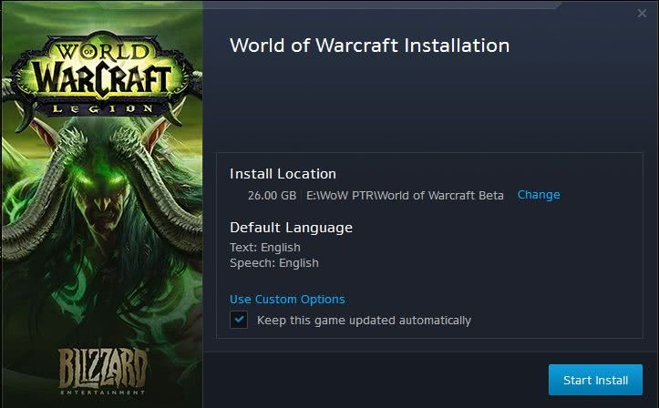 Legion: Downloads starten