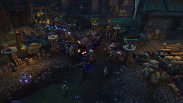 Stufe 120 Premades in der Battle for Azeroth Beta