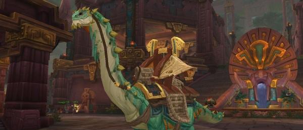 World of Warcraft - Mächtiger Karawanenbrutosaurus bringt für 5 Mill. Gold Auktionshaus mit