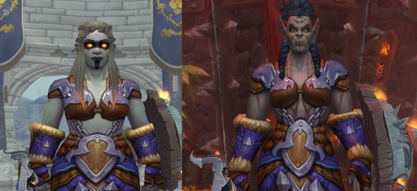 World of Warcraft - Mag'har Orcs & Dunkeleisenzwerge in der Battle for Azeroth Alpha