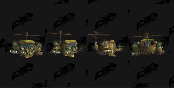 World of Warcraft - Mecha-Mogul Mk2 als neues Reittier für Ingenieurskunst