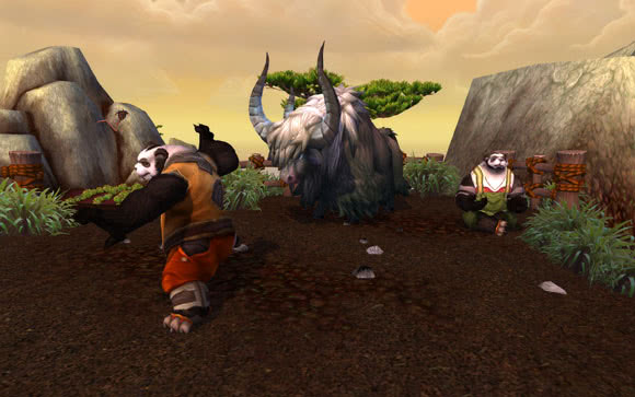 Mists of Pandaria, Yak, Mount, Reittier