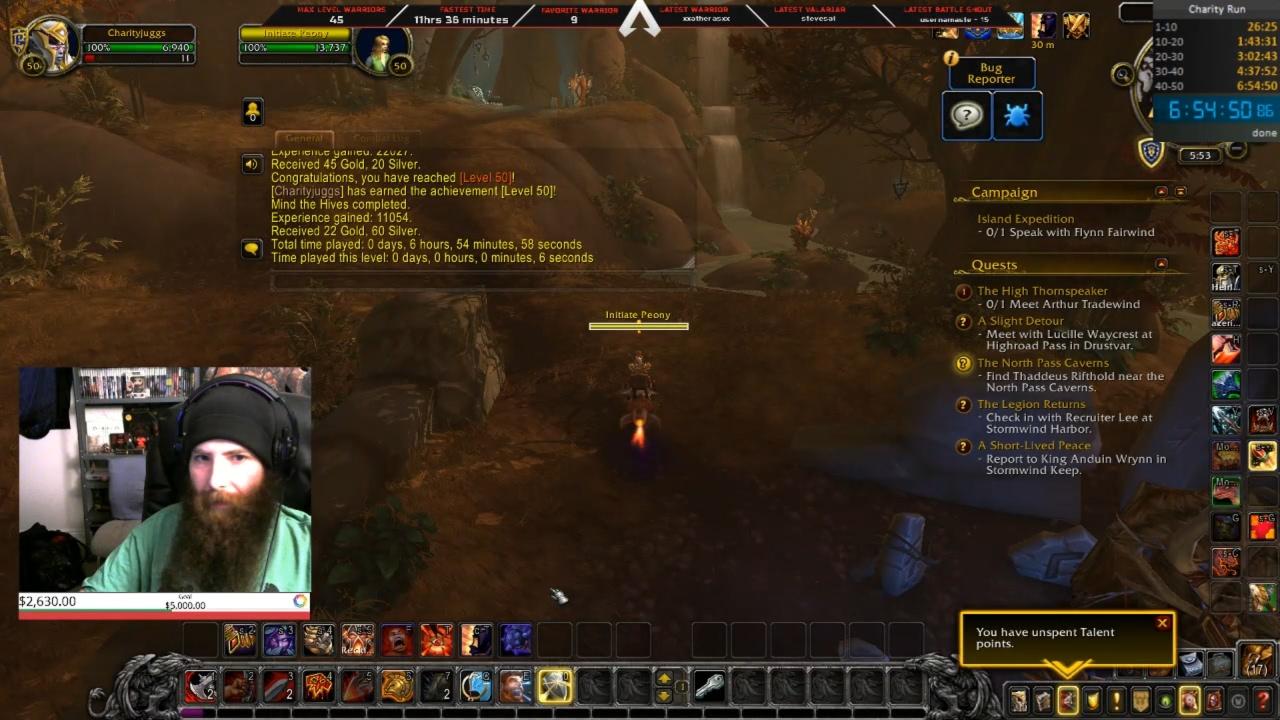 Speed-Leveling in Shadowlands: Spieler erlangt Stufe 50 in 7 Stunden