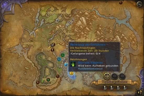 Welt Quests in Legion