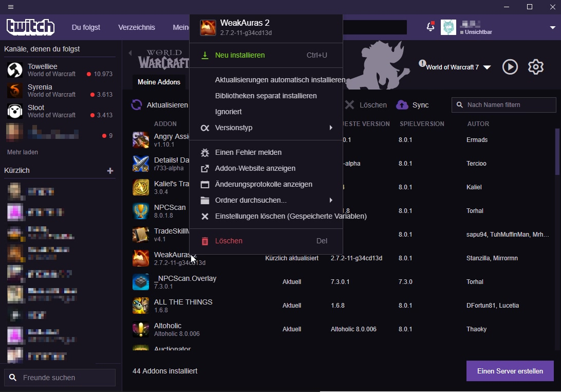 addon wow twitch