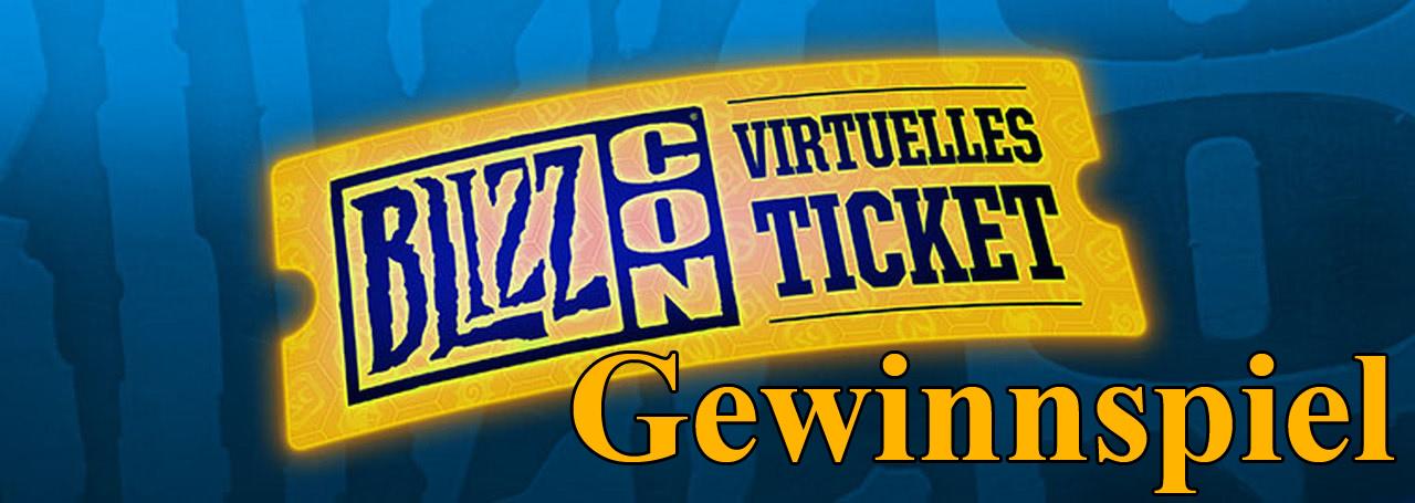 Gewinnt ein virtuelles Ticket für die BlizzCon 2019