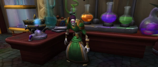 Beruf Alchemie in Battle for Azeroth