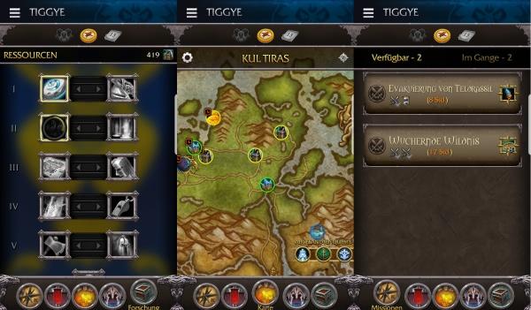 World of Warcraft - WoW Companion App wurde für Battle for Azeroth aktualisiert