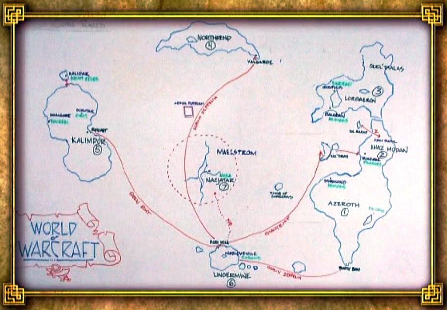 World of Warcraft - Frühe Konzeptzeichnung zeigt die Welt von Classic