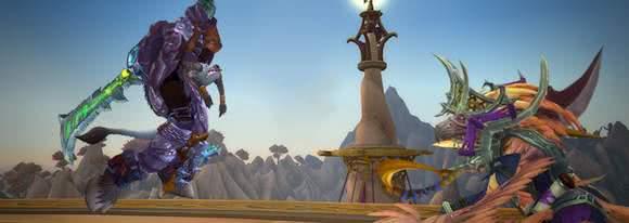 Zeitwanderungen werden in Legion erweitert