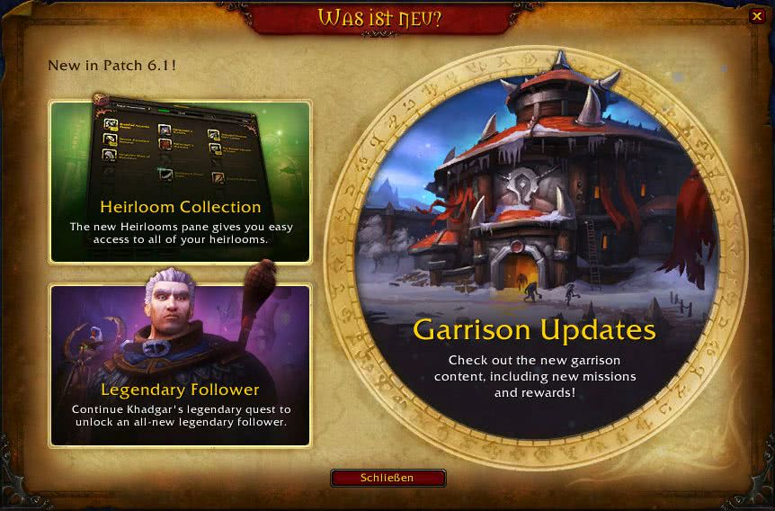 WoW Patch 6.1: Patchnotes und Guides