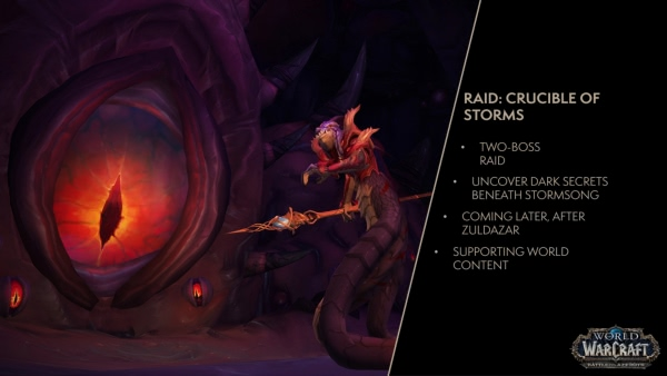 Patch 8.1: Neuer Schlachtzug - Crucible of Storms
