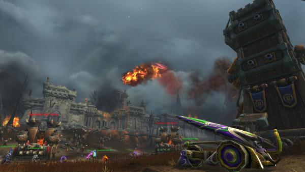 World of Warcraft - Kampf um Lordaeron - Horde und Allianz Szenario im Video