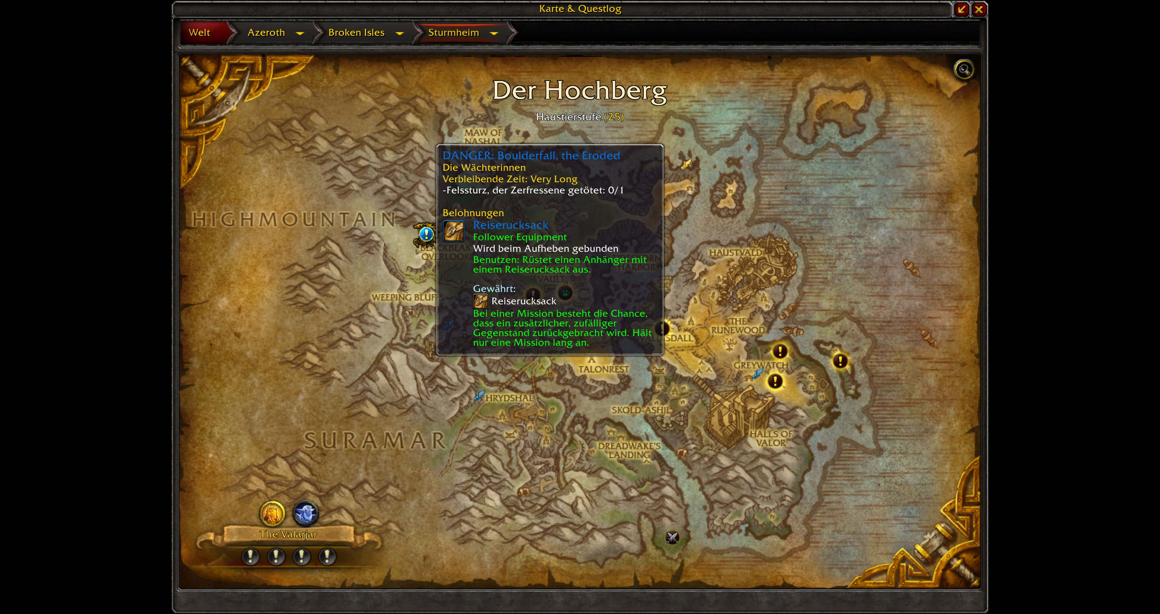 how to continue quest in wow