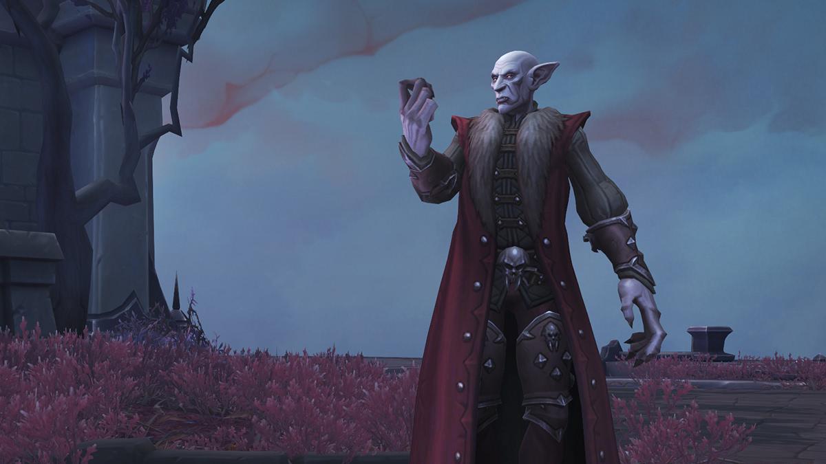 Vampire kommen vermutlich als neues spielbares Volk in Shadowlands
