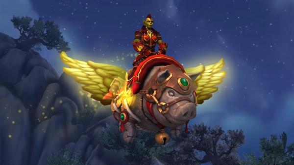 World of Warcraft - Neues WoW-Shop Reittier: Hogrus, das Schwein des Glücks
