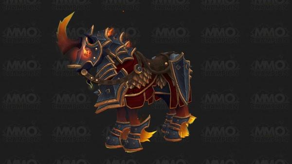 World of Warcraft - Prestigeträchtiger blutgeschmiedeter Renner für Ehrenstufe 500