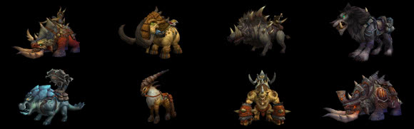 Drop-Mounts aus Warlords of Draenor