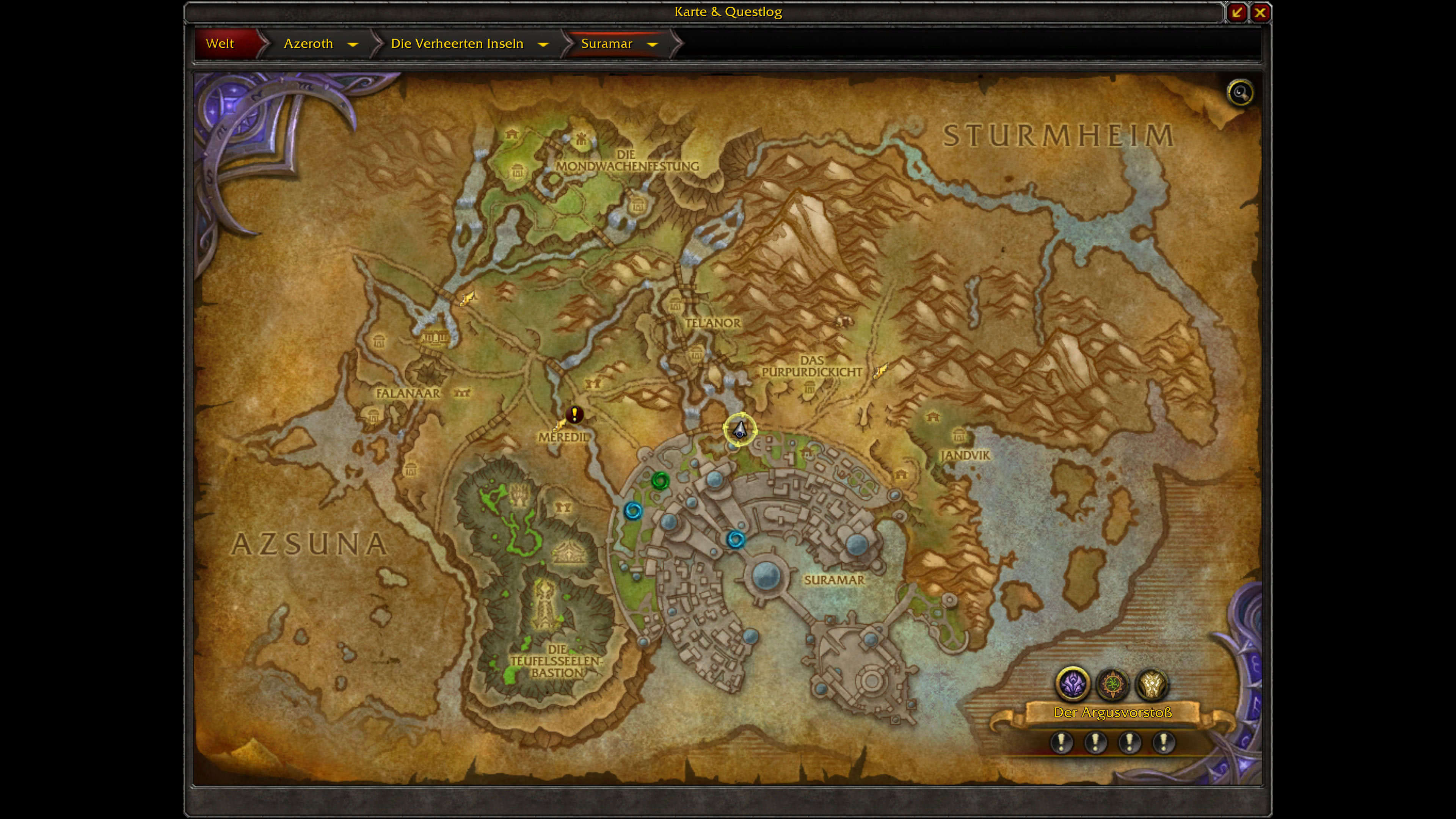 Wow angeln guide f r battle for azeroth for Site de location