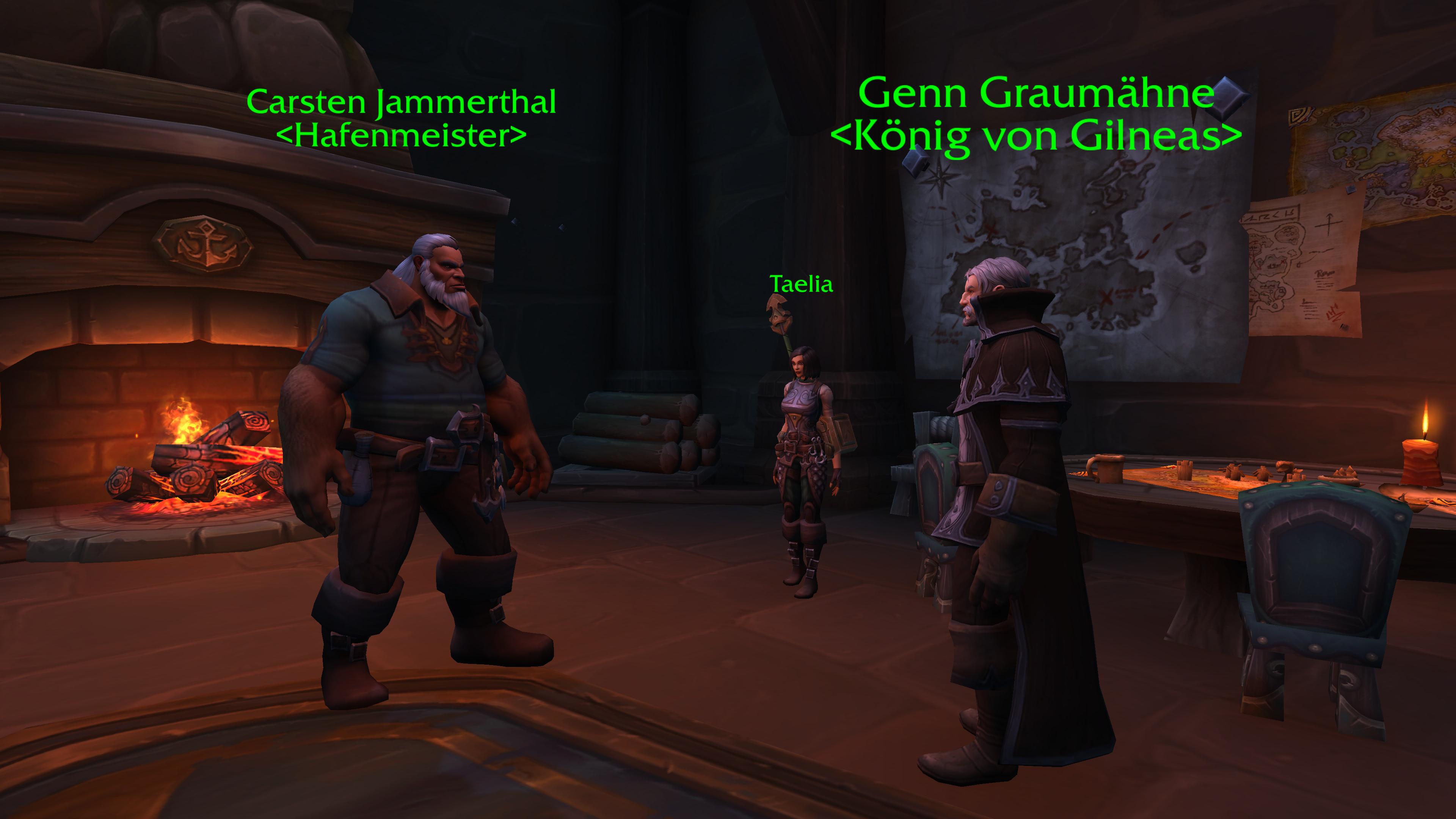 World of Warcraft - Azerit-Ausrüstung aus Abgesandtenquests skaliert mit Item-Level