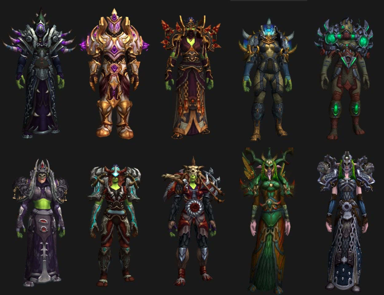 Wow Tier 17 Sets